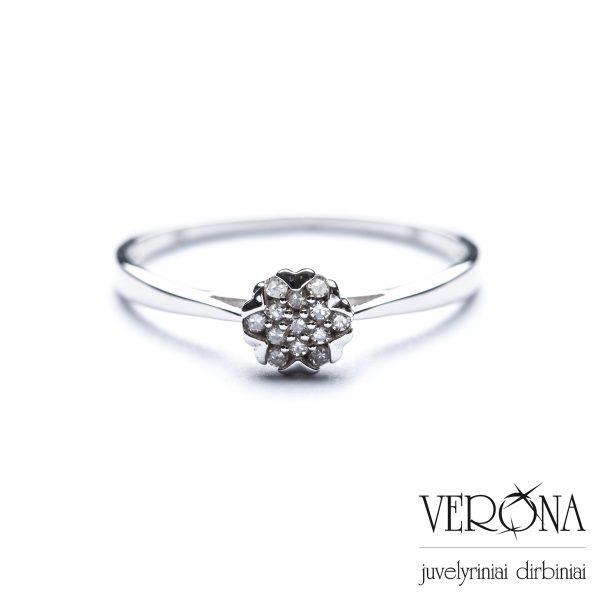 Žiedai su brangakmeniais 206851