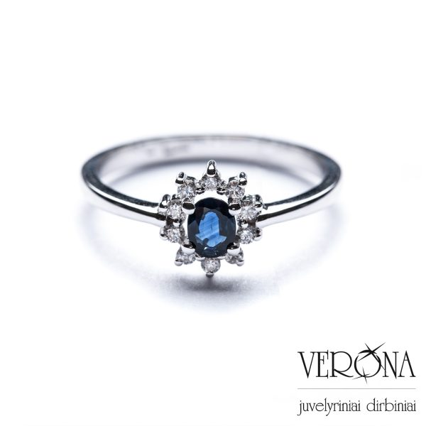 Žiedai su brangakmeniais 209019