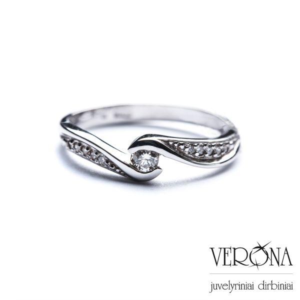Žiedai su brangakmeniais 220040
