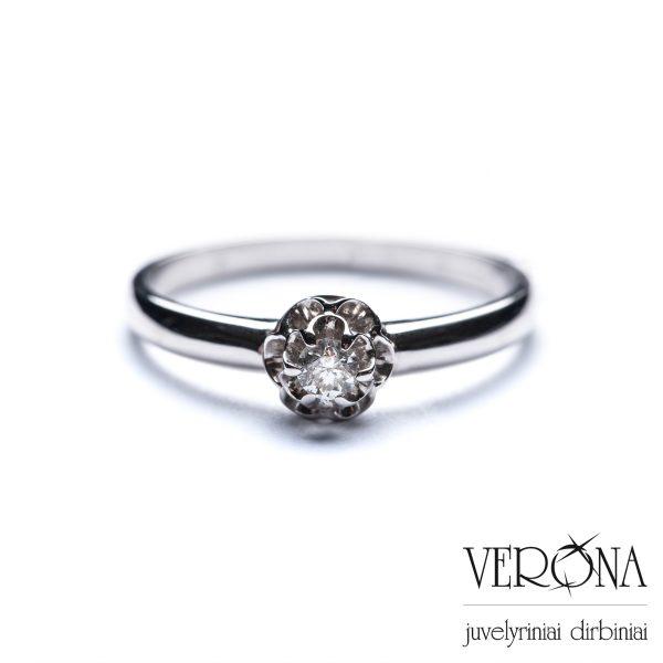 Žiedai su brangakmeniais 152528