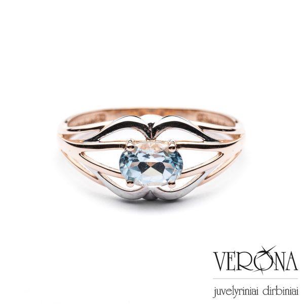 Sužadėtuvių žiedas su cirkoniu 265998