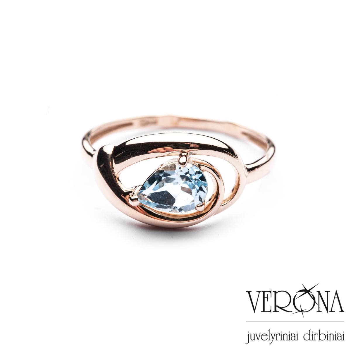 Sužadėtuvių žiedas su cirkoniu 276951