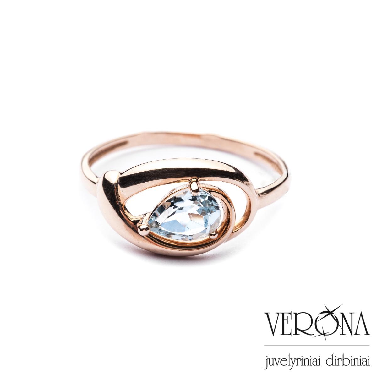 Sužadėtuvių žiedas su cirkoniu 265989